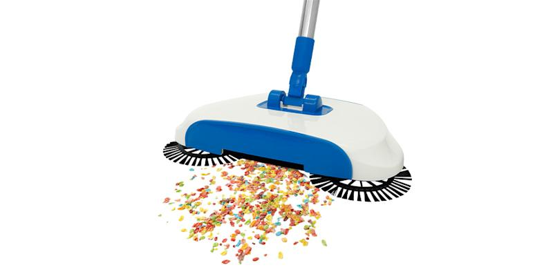 InstaSweep Hard Floor Surface Sweeper. (Photo: Yahoo Lifestyle Store)