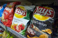 <p>Whether you call them potato chips or crisps, there's one thing everyone can agree on: Nothing beats a nice, salty snack. Especially if it tastes like sweet pimento cream cheese. Okay, that's probably a more polarizing opinion, but it won't seem that strange after you see the other over-the-top potato chip flavors found on shelves around the world.</p>