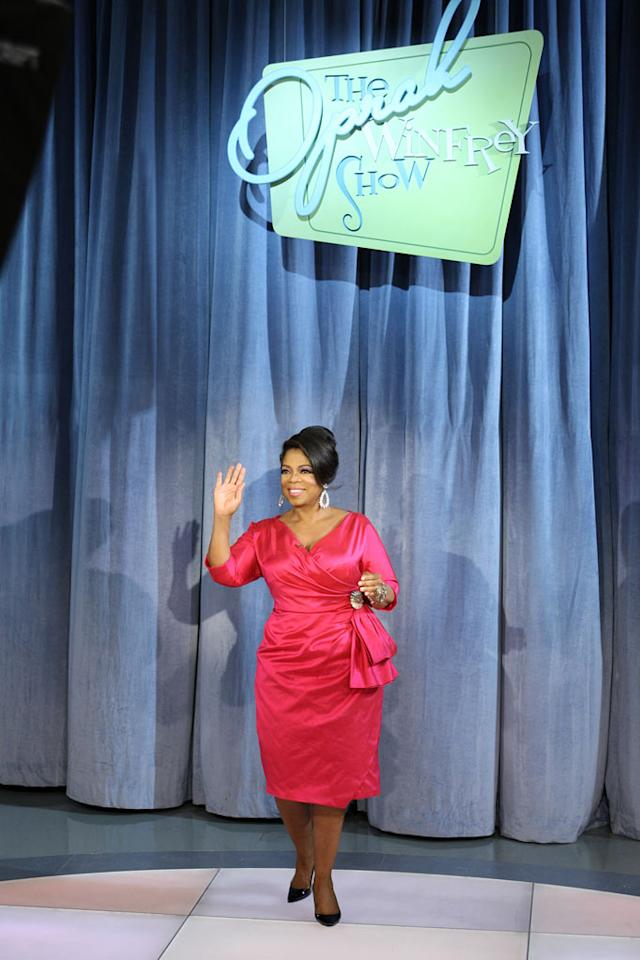 """Oprah takes a trip back in time to the 1960s on a special episode of <a href=""""/oprah-winfrey-show/show/32704"""">""""The Oprah Winfrey Show""""</a> on September 21, 2009."""