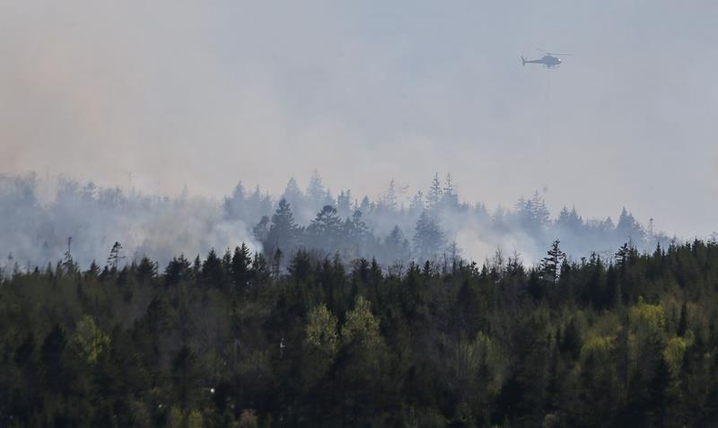 Residents evacuated for Porters Lake blaze east of Halifax allowed to return home