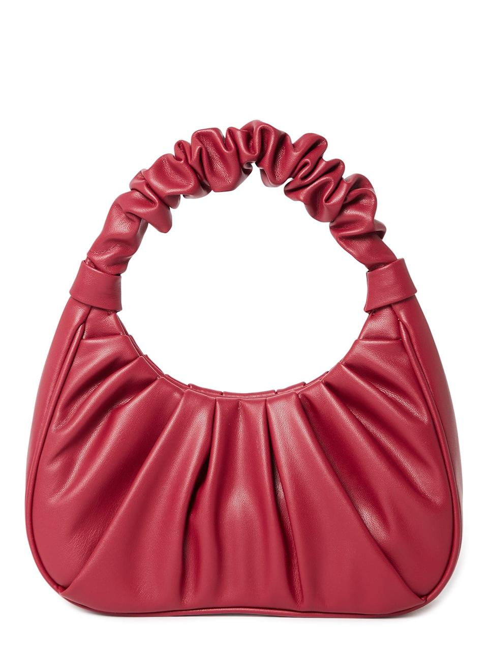 <p>The trendy <span>Time &amp; Tru Women's Scrunchie Shoulder Bag</span> ($15) is a must-have for fashion enthusiasts.</p>