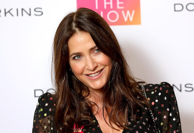 LONDON, ENGLAND - OCTOBER 04: Lisa Snowdon attends the Breast Cancer Care London Fashion Show in association with Dorothy Perkins at Park Plaza Westminster Bridge Hotel on October 4, 2018 in London, England. (Photo by Tim P. Whitby/Tim P. Whitby/Getty Images for Breast Cancer Care)