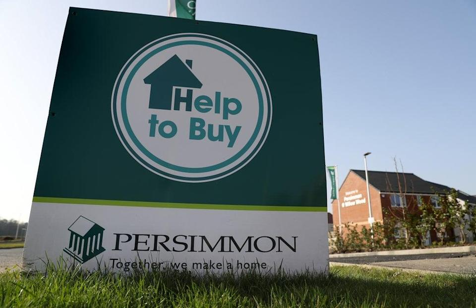 Persimmon Homes revealed a jump in profits for the past half-year (Andrew Milligan/PA) (PA Archive)