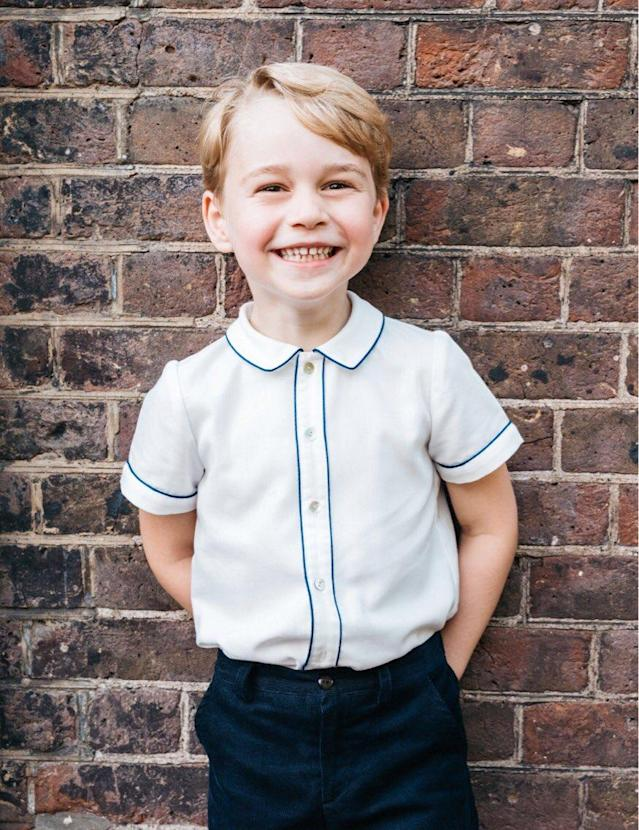 Prince George turns 5 on July 22. (Photo: Matt Porteous/Kensington Palace)