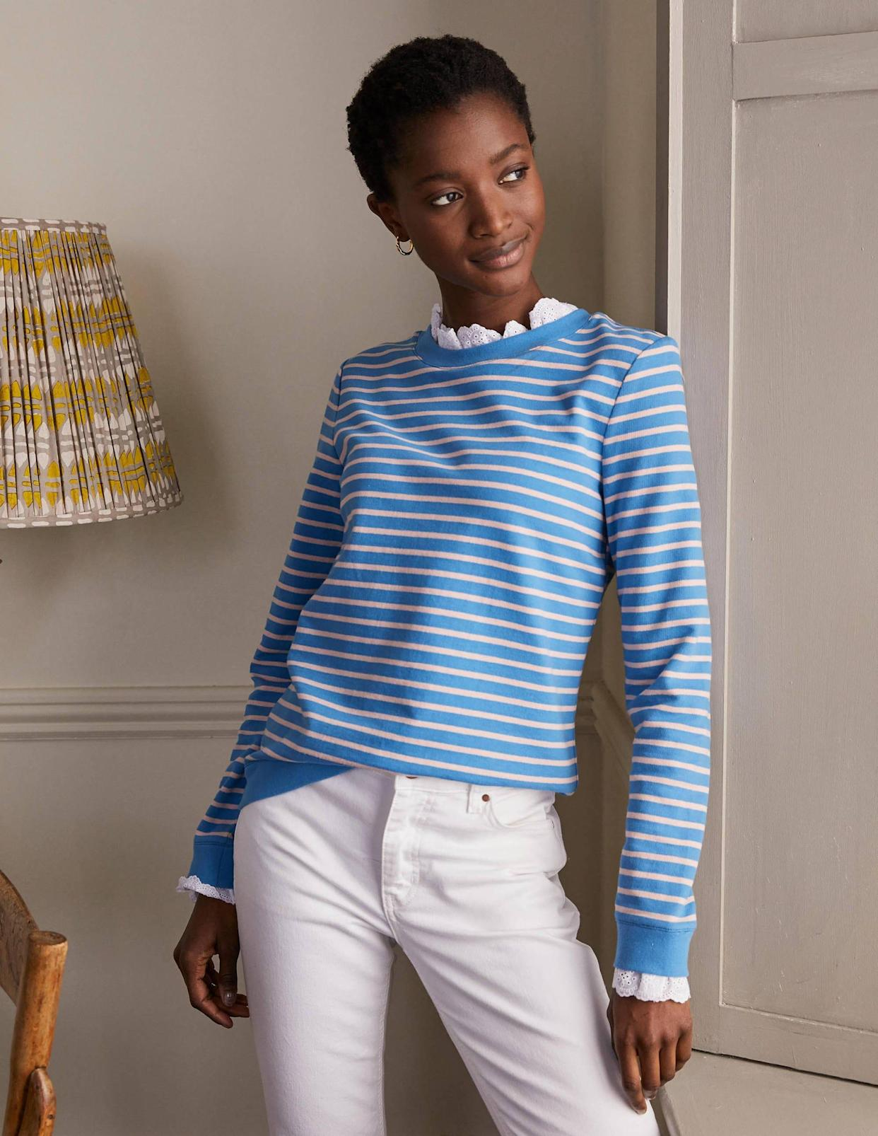 The jumper is the perfect addition to your autumn wardrobe. (Boden)