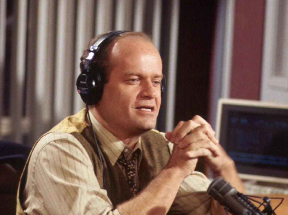 Grammer played fusty psychiatrist Frasier Crane for two decades, in Cheers and its spin-off, Frasier (Nbc-Tv/Kobal/Shutterstock)