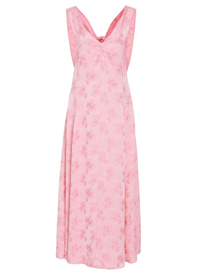 "<p>Be pretty in pink with this slinky dress from Alexa Chung's fashion label – perfect for those spring weddings.</p><p><em>Sheath dress, £570, AlexaChung at Moda Operandi</em></p><p><a rel=""nofollow"" href=""https://www.modaoperandi.com/alexachung-r18/cutout-back-sheath-dress"">BUY NOW</a><br></p>"