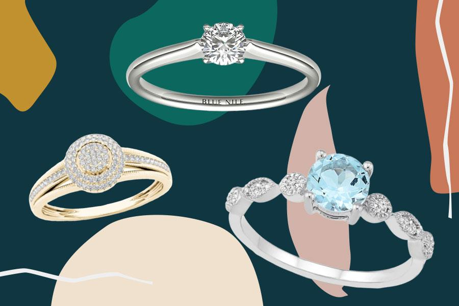 Because It S Officially Proposal Season Here Are 14 Affordable Engagement Rings That Won T Break The Bank