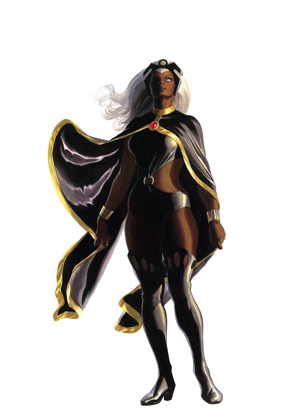 Storm as drawn by Alex Ross in the