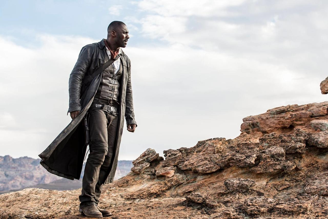 <p>This one has been lingering in development hell for so long we barely believe it's actually coming out – we'll believe it when we see it. There's still no trailer though we've had a few images at least of Idris Elba as Gunslinger Roland Deschain, pursing the Man In Black (Matthew McConaughey) across a post-apocalyptic landscape. The director is Nikolaj Arcel who made A Royal Affair. Which is great but we can't possibly see what the two projects have in common.<span></span></p>