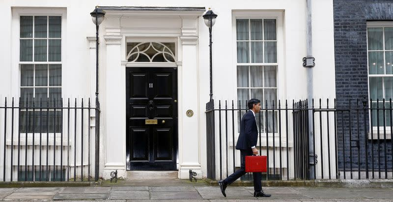 UK cuts growth forecasts for 2020, increases for 2021