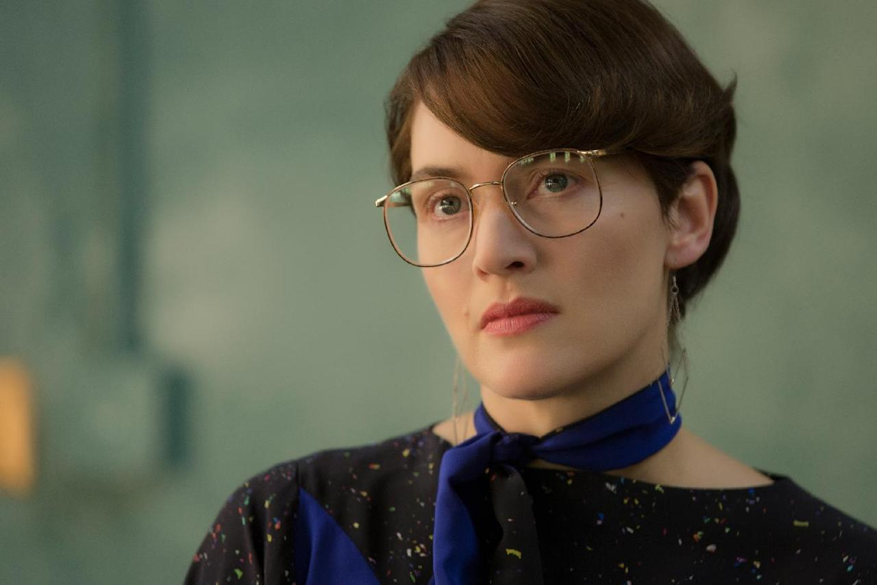 "This image released by Universal Pictures shows Kate Winslet in a scene from ""Steve Jobs."" Winslet was nominated for an Oscar for best supporting actress on Thursday, Jan. 14, 2016, for her role in the film. The 88th annual Academy Awards will take place on Sunday, Feb. 28, at the Dolby Theatre in Los Angeles (Francois Duhamel/Universal Pictures via AP)"