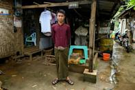Jade miner Kyaw Htet Aung, 19, dreams of striking rich and starting his own business