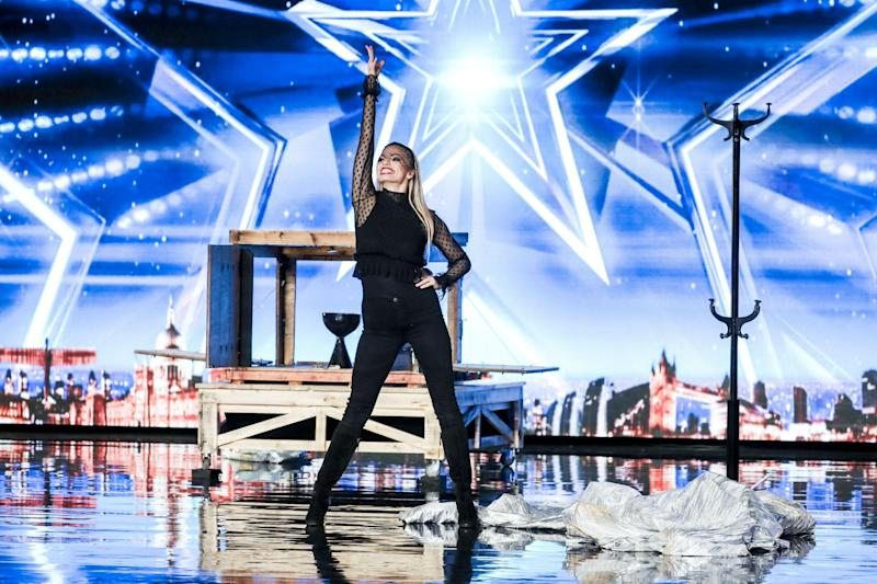 Jaw-dropping: Magician Josephine pulls off an epic twist in her act: ITV