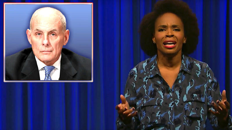 'Late Night' Writer Expertly Schools John Kelly On The Civil War