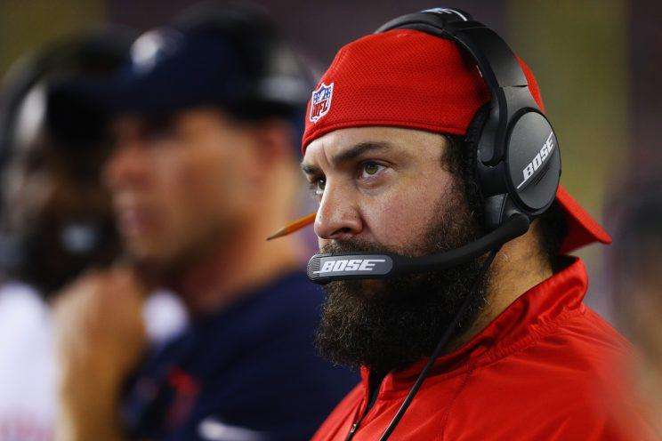 4e608057d71 Patriots defensive coordinator Matt Patricia embraces technology
