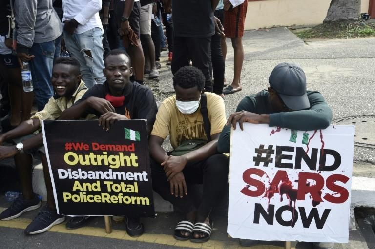 "The hashtag ""EndSARS"" has been one of several used to galvanise support online"