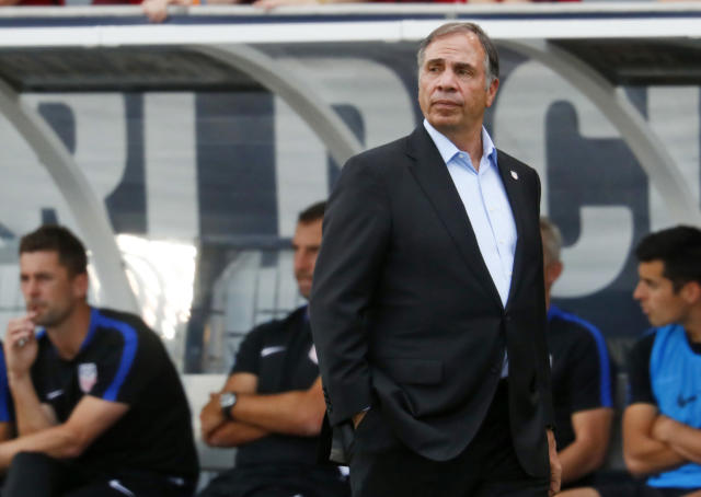 Bruce Arena's U.S. men's national team lost to Trinidad and Tobago on Tuesday on the worst night in American soccer history. (AP)