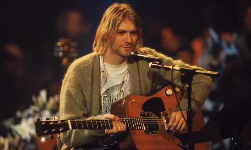 Kurt Cobain On 'MTV Unplugged', 1993