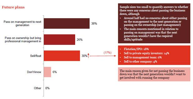 Singapore respondents' future plans for their business (Taken from PwC survey)