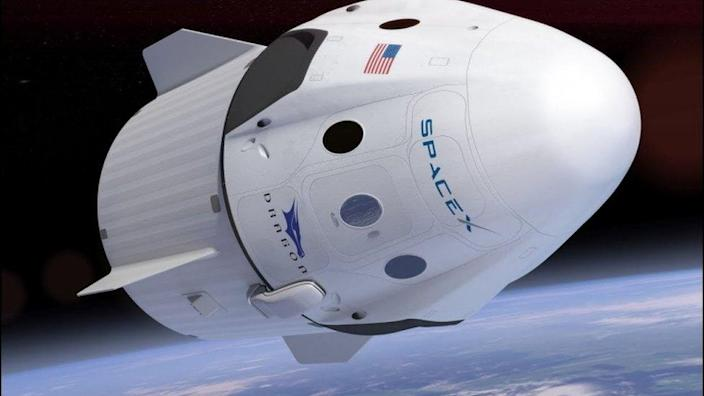 SpaceX's Dragon was designed to carry commercial astronauts to Earth orbit