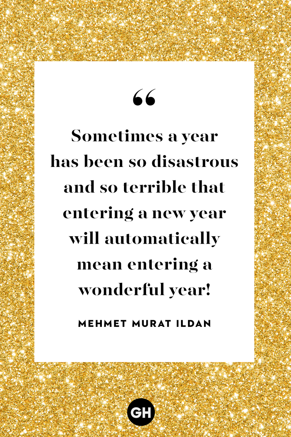 <p>Sometimes a year has been so disastrous and so terrible that entering a new year will automatically mean entering a wonderful year!</p>