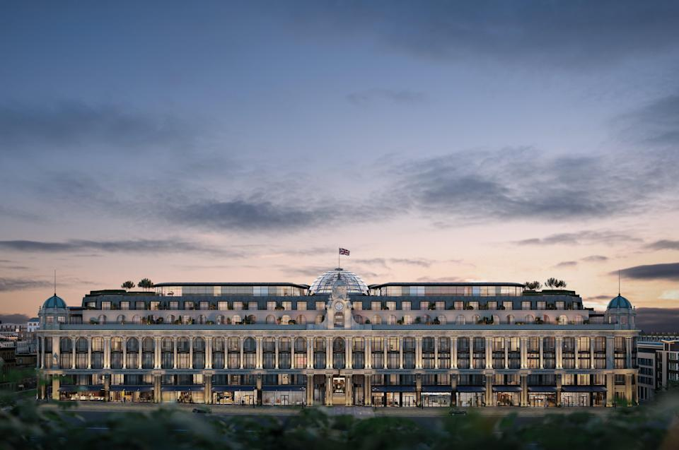 <p>How The Whiteley will look under the £1billion transformation of one of London's oldest shopping centres </p> (The Whiteley)