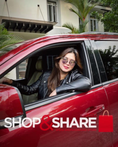 Angel Locsin auctioned her own car on Shop & Share last year