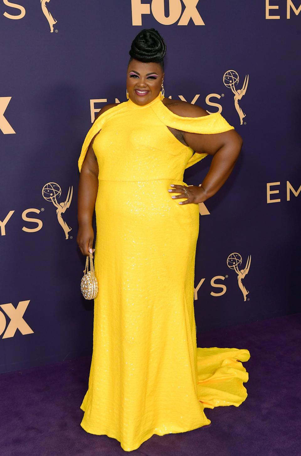 """<h1 class=""""title"""">Nicole Byer in Christian Siriano</h1><cite class=""""credit"""">Photo: Getty Images</cite>"""