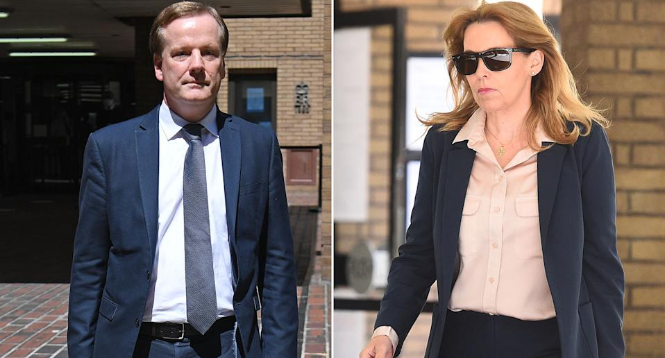Tory MP Natalie Elphicke has ended the marriage with husband Charlie, left, after his sexual assault conviction. (PA Images)