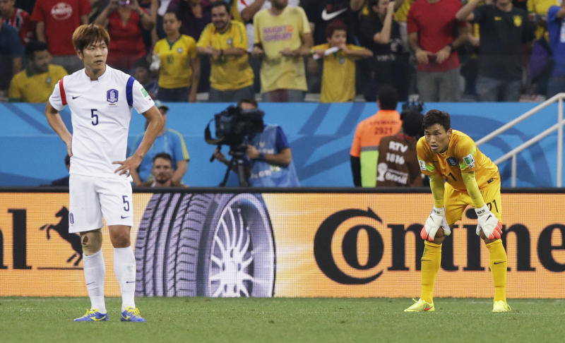 With South Korea's loss, Asia out of World Cup