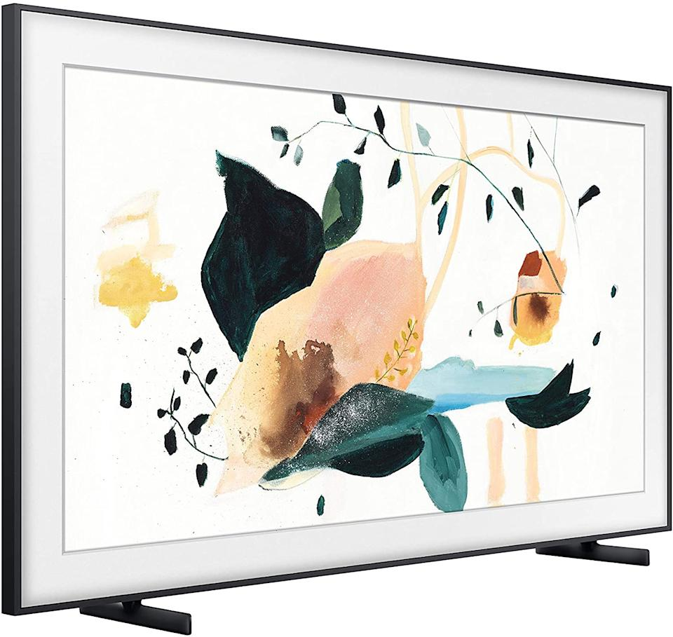 "Samsung 32"" The Frame QLED 4K UHD Smart TV is on sale during Prime Day 2020."