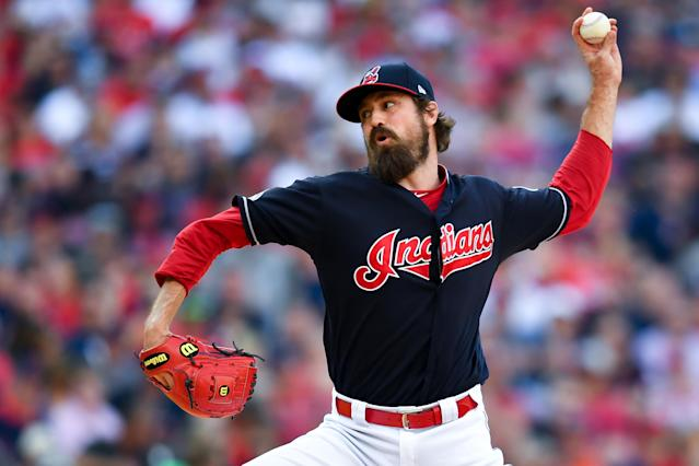 Provided he's healthy, Andrew Miller is one of the dominant relievers of his generation. (Getty Images)