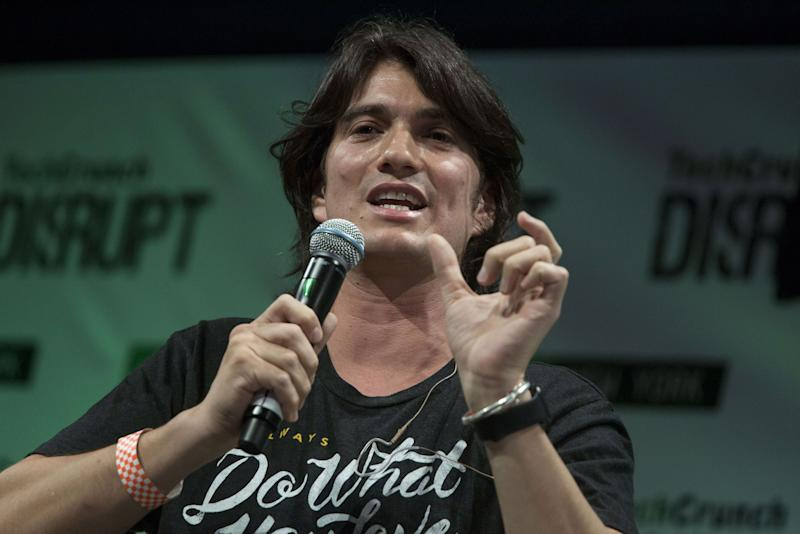 WeWork losses double to $1.3bn as SoftBank struggles to stem spending