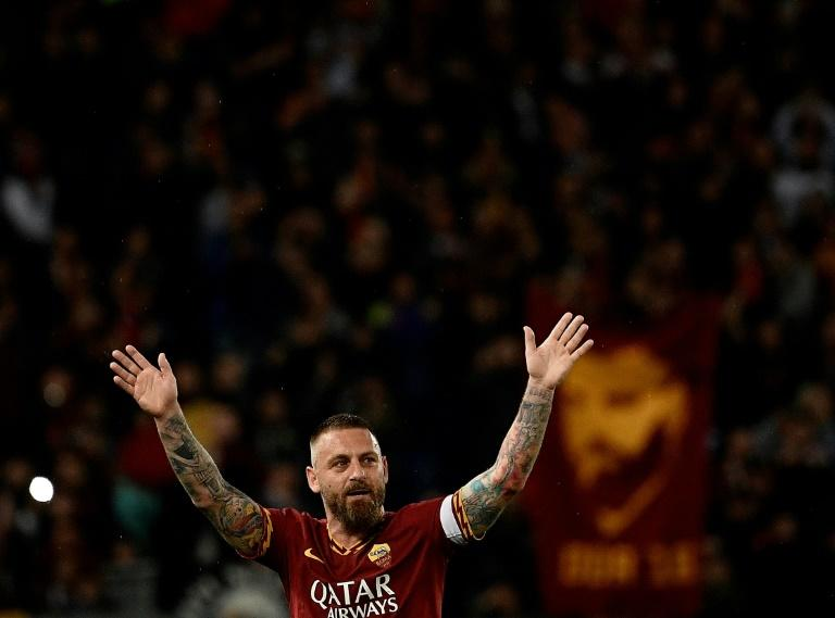 Daniele De Rossi is a hero to Roma fans having spent 18 years playing for his hometown club, the last two of which he was captain