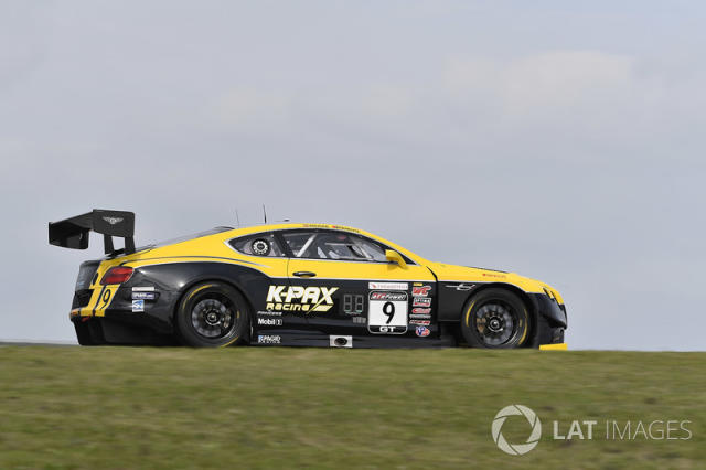 "K-PAX Racing Bentley Continental GT3: Alvaro Parente, Andy Soucek <span class=""copyright"">Richard Dole / Motorsport Images</span>"