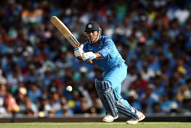 MS Dhoni should move up the India batting order, said Rohit Sharma after the first ODI loss against Australia.