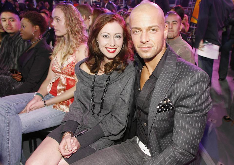 Joey Lawrence and wife Chandie Yawn-Nelson attend a 2006 event. (Photo: Chris Polk/FilmMagic for VH1 – Off Air Creative)