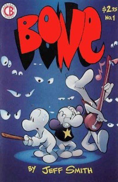 """<p>Meanwhile, the first issue of <em>Bone</em> is worth up to <a href=""""https://www.sellmycomicbooks.com/most-valuable-comic-books-copper-age.html"""" rel=""""nofollow noopener"""" target=""""_blank"""" data-ylk=""""slk:$3,200"""" class=""""link rapid-noclick-resp"""">$3,200</a>—so dive into your bookshelf ASAP. </p>"""