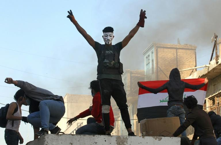 Iraqi anti-government protesters are enraged at ongoing violence, which has continued despite calls by the country's top Shiite authority to deal with rallies peacefully