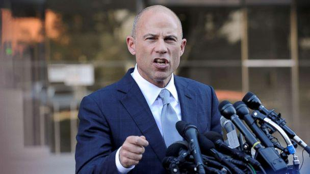 PHOTO: Michael Avenatti, lawyer for adult film actress Stormy Daniels, speaks to the media in Los Angeles, Sept. 24, 2018. (Andrew Cullen/Reuters, FILE)