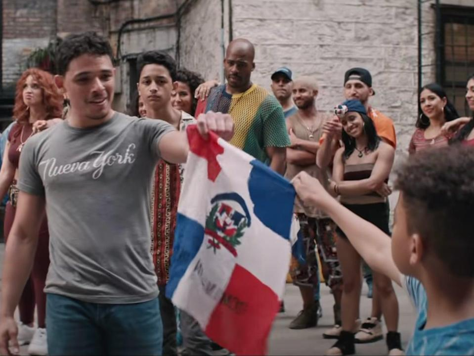 Why you have to stick around for In the Heights' post-credit scene (Warner Bros Pictures)