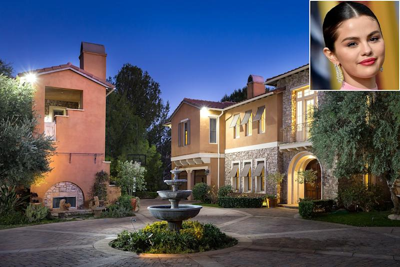 Selena Gomez's Former Calabasas Mansion Is on the Market for $6.6 Million — See Inside!