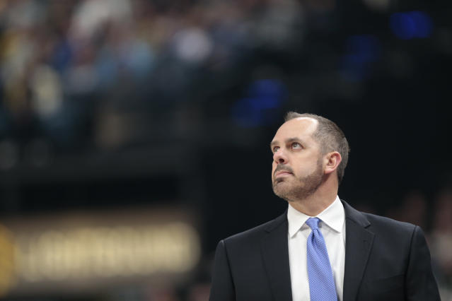 Frank Vogel looks to the future. (AP)