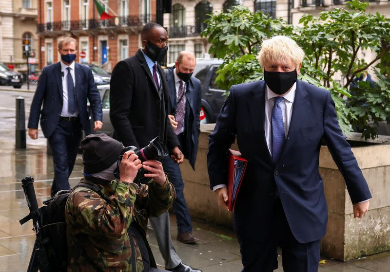 UK's Johnson doesn't want a no-deal Brexit but can live with it
