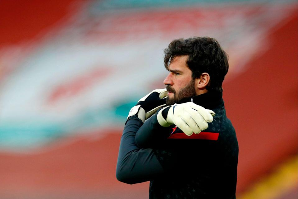 "<p>Alisson: ""Our family feels loved by everyone.""</p> (POOL/AFP via Getty Images)"