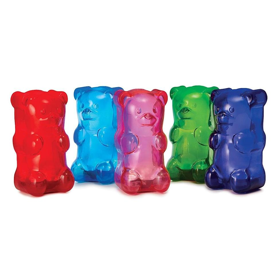 """<p>They'll love owning this <a href=""""https://www.popsugar.com/buy/Squishy-Gummy-Bear-Light-588046?p_name=Squishy%20Gummy%20Bear%20Light&retailer=uncommongoods.com&pid=588046&price=28&evar1=moms%3Aus&evar9=32519221&evar98=https%3A%2F%2Fwww.popsugar.com%2Ffamily%2Fphoto-gallery%2F32519221%2Fimage%2F47606743%2FSquishy-Gummy-Bear-Light&list1=gifts%2Choliday%2Cgift%20guide%2Cgifts%20for%20kids%2Ckid%20shopping%2Ctweens%20and%20teens%2Cgifts%20for%20teens&prop13=api&pdata=1"""" class=""""link rapid-noclick-resp"""" rel=""""nofollow noopener"""" target=""""_blank"""" data-ylk=""""slk:Squishy Gummy Bear Light"""">Squishy Gummy Bear Light</a> ($28) in their favorite color.</p>"""