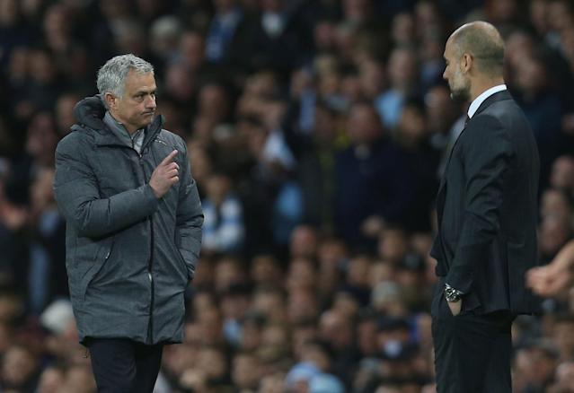 Jose Mourinho has hit out at old rival Pep Guardiola and Manchester City