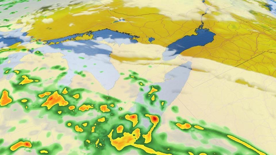 Thunderstorm risk builds for parts of southern Ontario Thursday