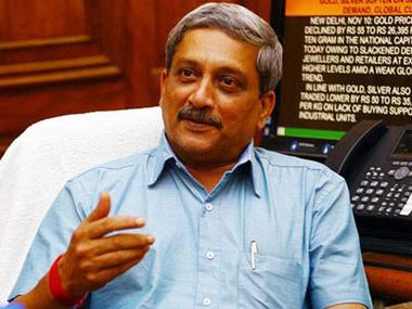 File image of Goa chief minister Manohar Parrikar. PTI